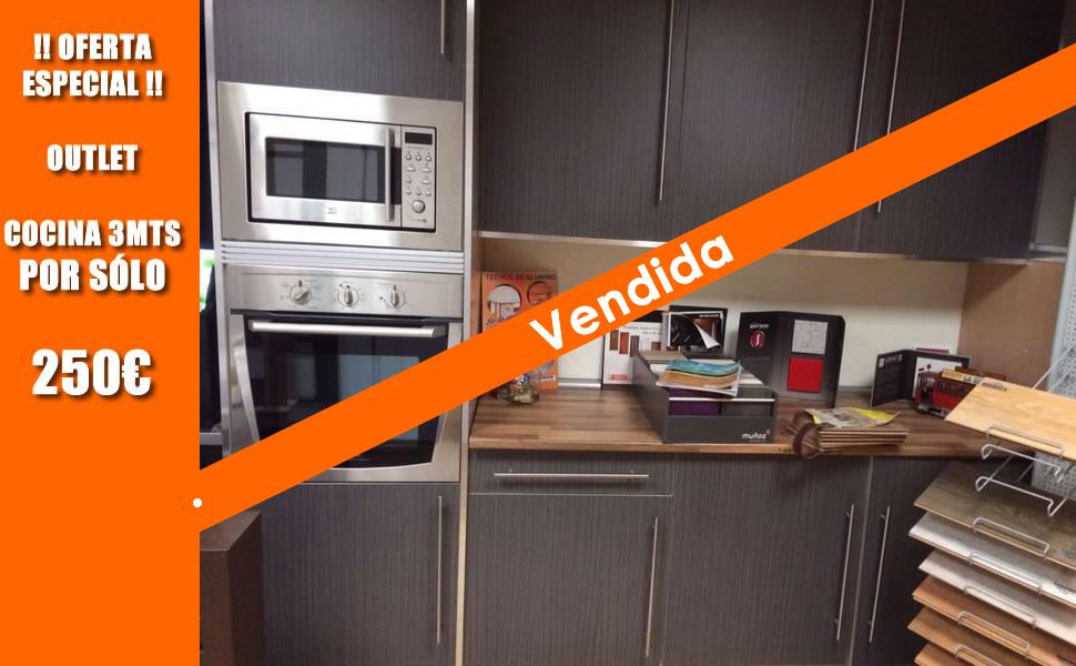 Muebles cocina outlet 20170902182554 for Muebles de cocina on line ofertas