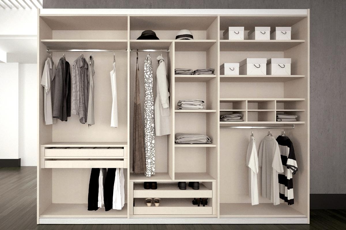 Frentes de armario e interiores de armario en ch decoracion madrid - Armarios empotrados interiores fotos ...