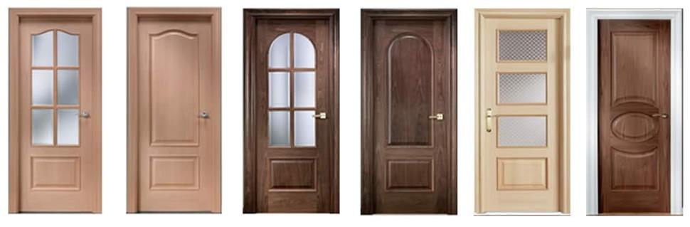 Puertas clásicas decorativas