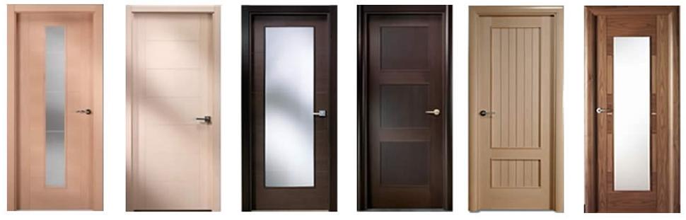 Puertas modernas en ch decoracion madrid puertas for Puertas de madera interiores minimalistas