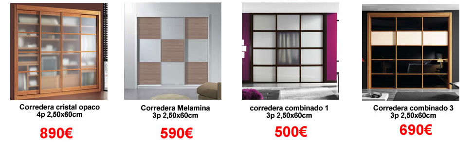 Ofertas de armarios en ch decora - Precios armarios empotrados a medida ...