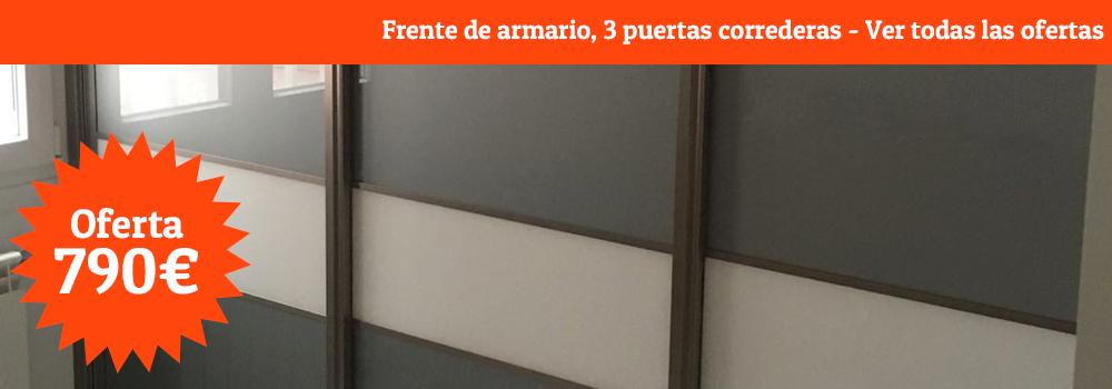 oferta-frente-armario-tres-puertas-correderas-puertasycocinasmadrid